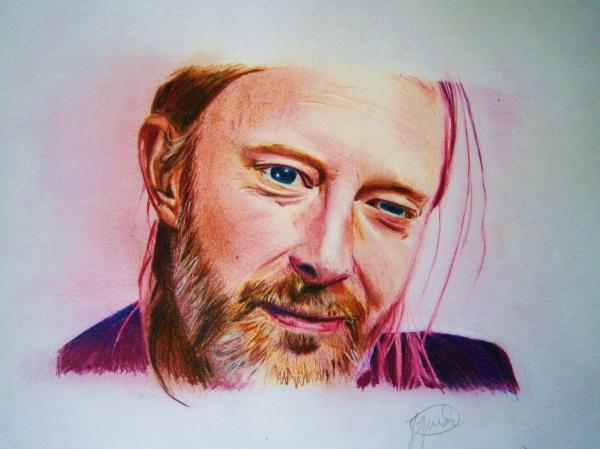 Thom Yorke by IgnacioR